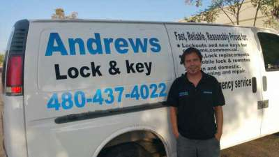 Andrew McColley owner of Andrews Lock and Key of Phoenix