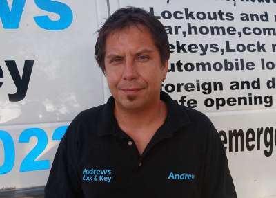Andrew McColley, owner of Andrews Lock & Key a Phoenix Locksmith